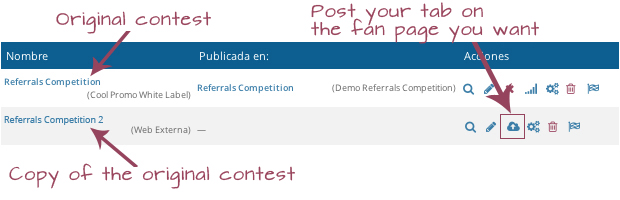 Copy of the original contest