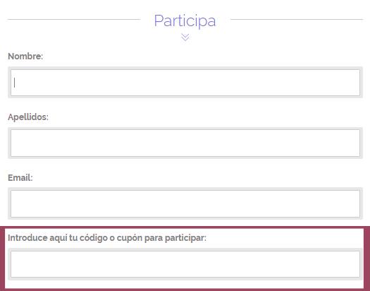 Código para participar
