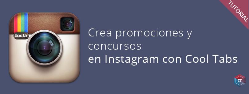 Crea concursos en Instagram