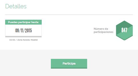 Mostrar el número total de participaciones